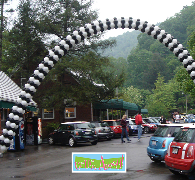 Finish Line Arch   Up, Up & Away!