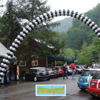 Finish Line Arch | Up, Up & Away!
