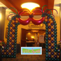 Mardi Gras Arch |  Up, Up & Away!