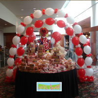 Circus Balloon Arches | Up, Up & Away!