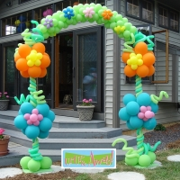 Flower Arch | Up, Up & Away!