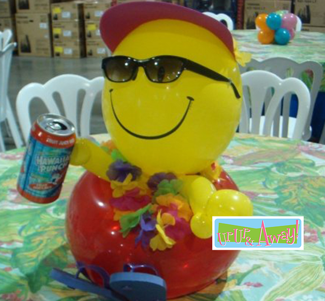 Pool Buddy Centerpiece | Up, Up & Away!
