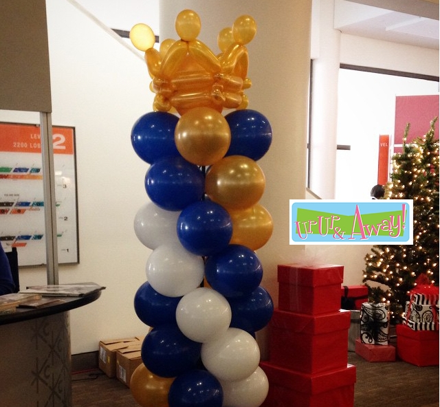 Columns Up And Away Balloons