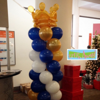 Royal Balloon Column | Up, Up & Away!