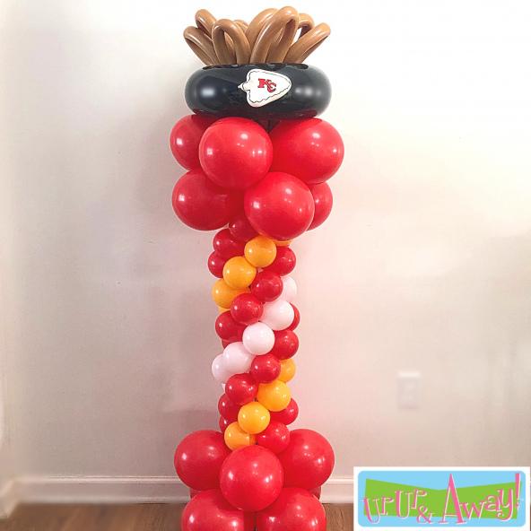 KC Chiefs Super Bowl Balloons | Up, Up &  Away! Kansas City Balloons