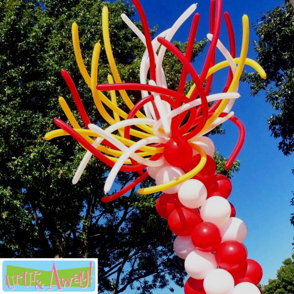 KC Chiefs Super Bowl Balloons | Up, Up &  Away! Kansas City Balloons