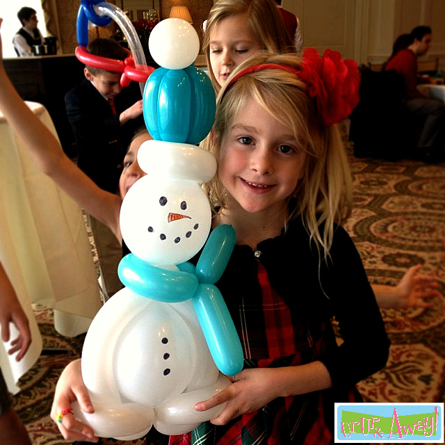 Balloon Snowman | Up, Up