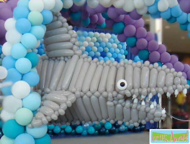 Shark Balloon Sculpture | Up, Up & Away!