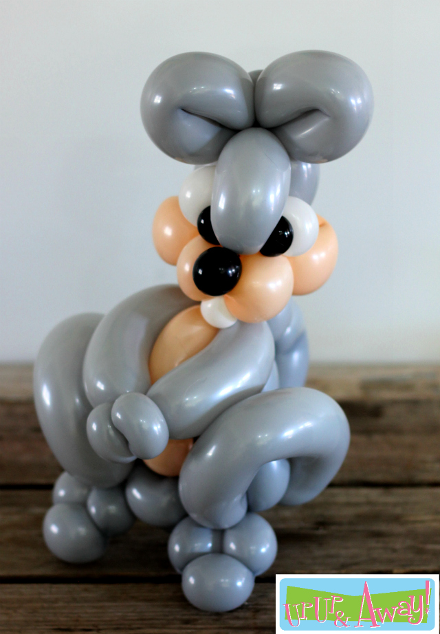 Balloon Squirrel | Up, Up & Away!