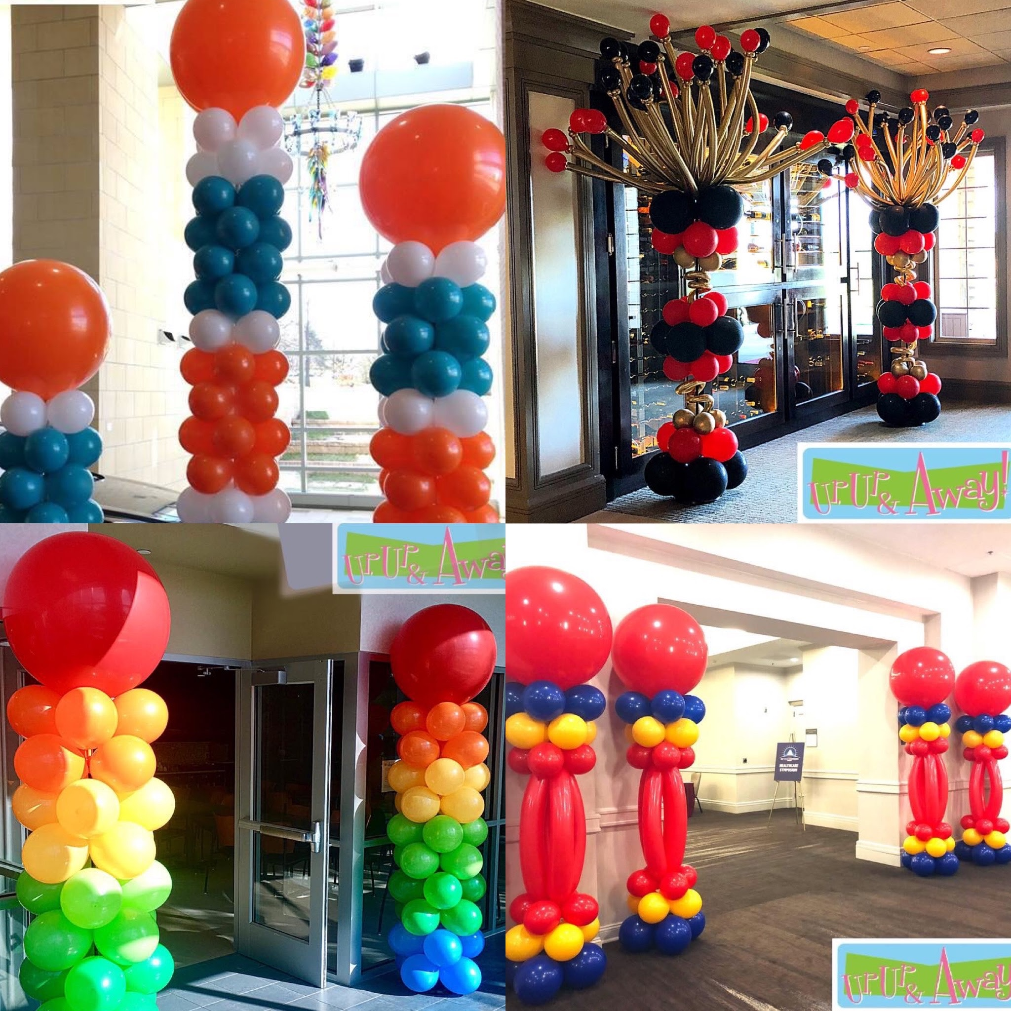 Up, Up & Away! Balloon Columns