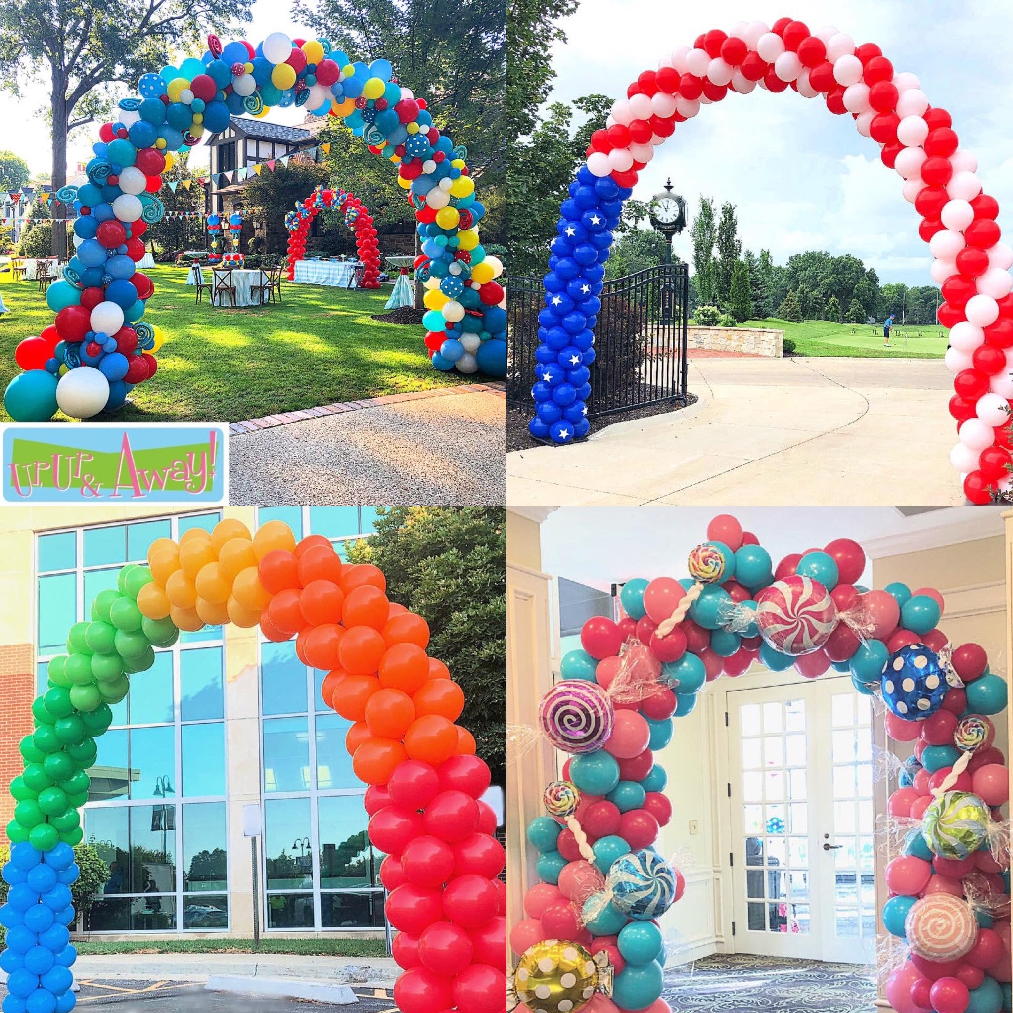 Up, Up & Away! Balloon Arches