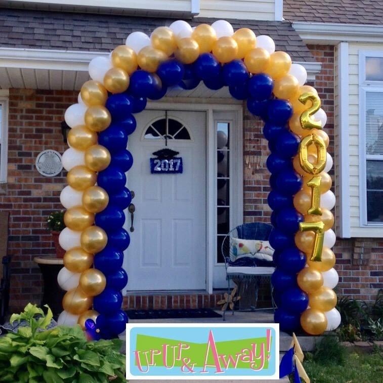 Graduation Arch | Up, Up & Away! Balloons