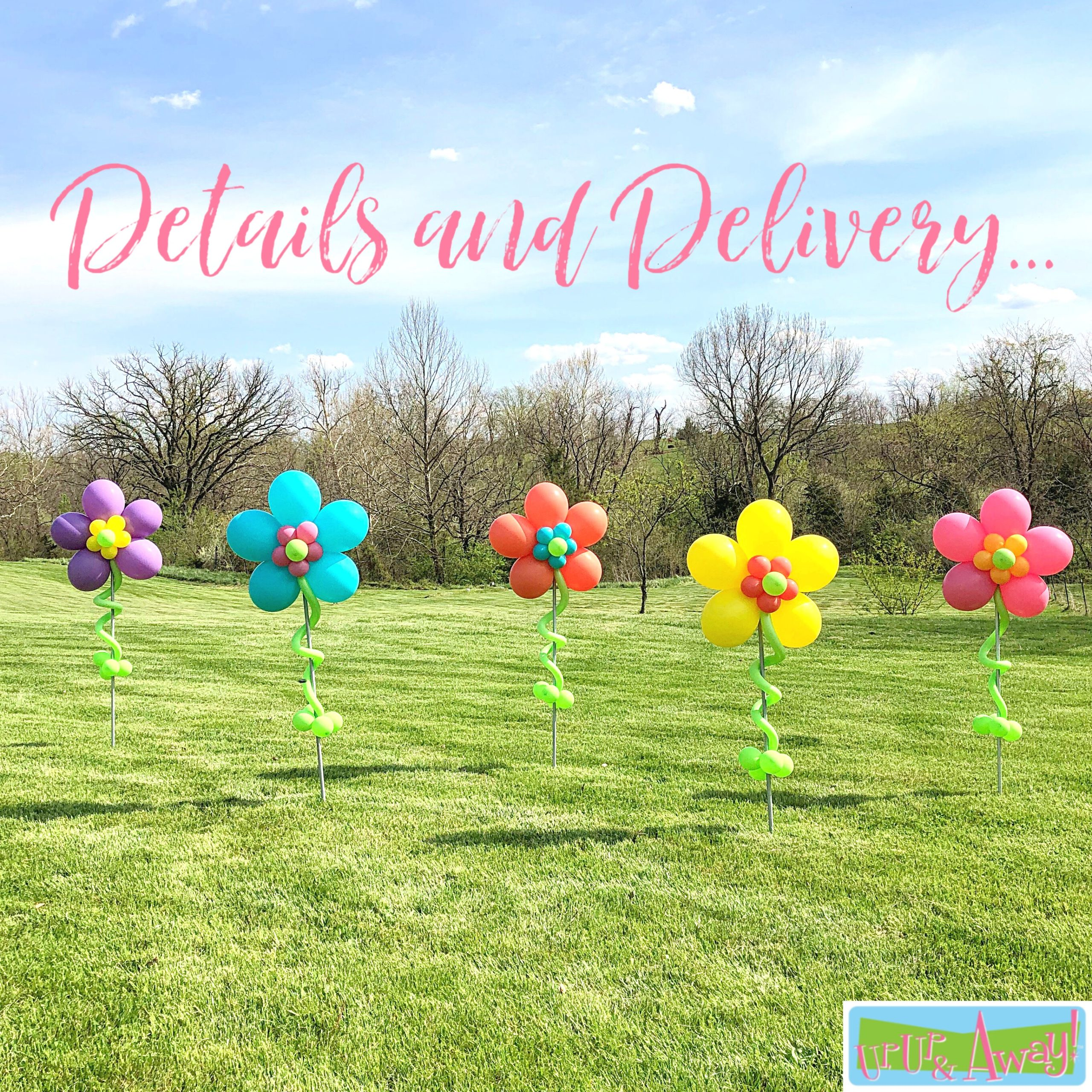 Details and Delivery | Up, Up & Away! Balloons