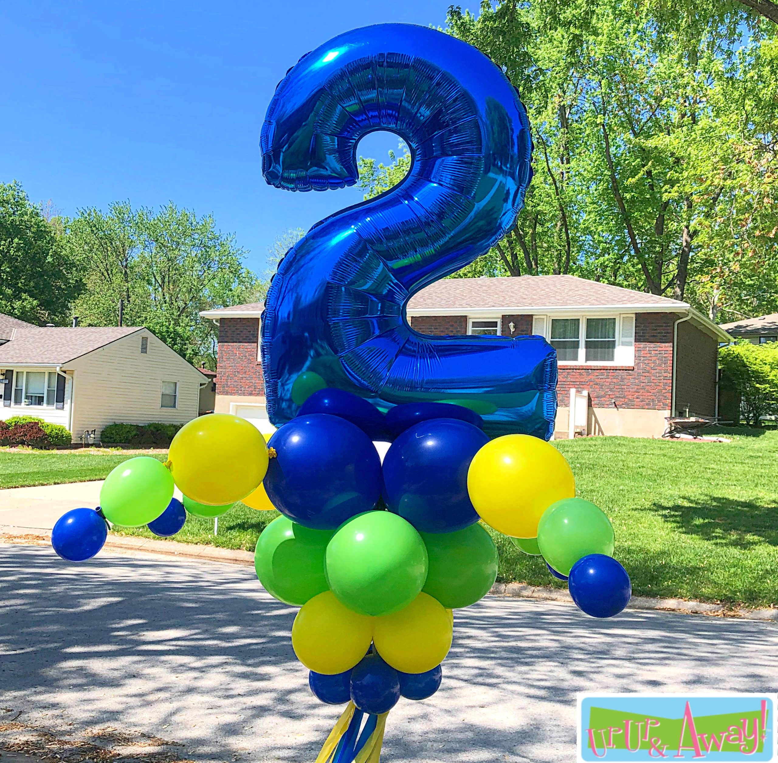 Number Waver | Up, Up & Away! Balloons