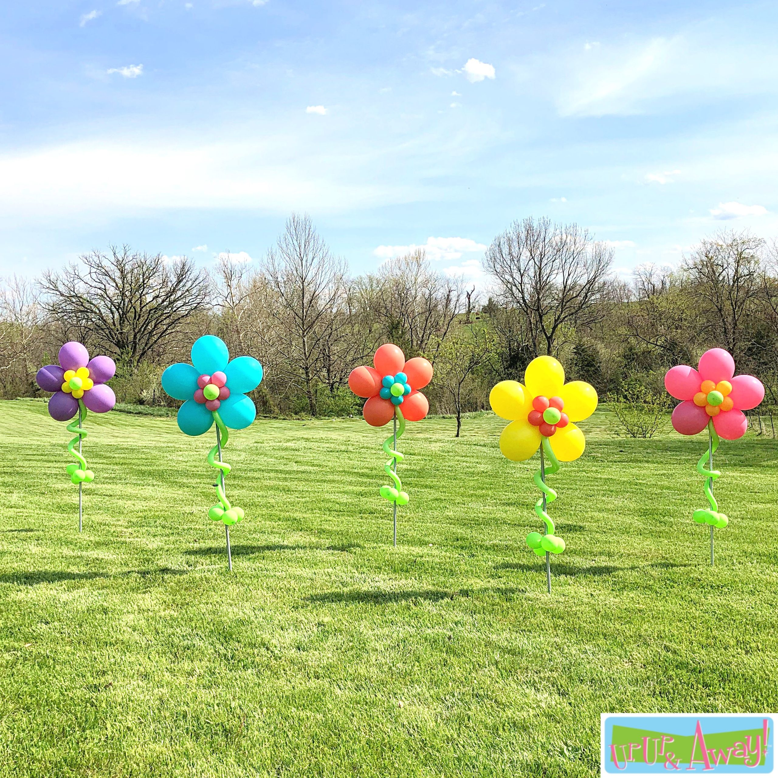 Five Flowers | Up, Up & Away! Balloons