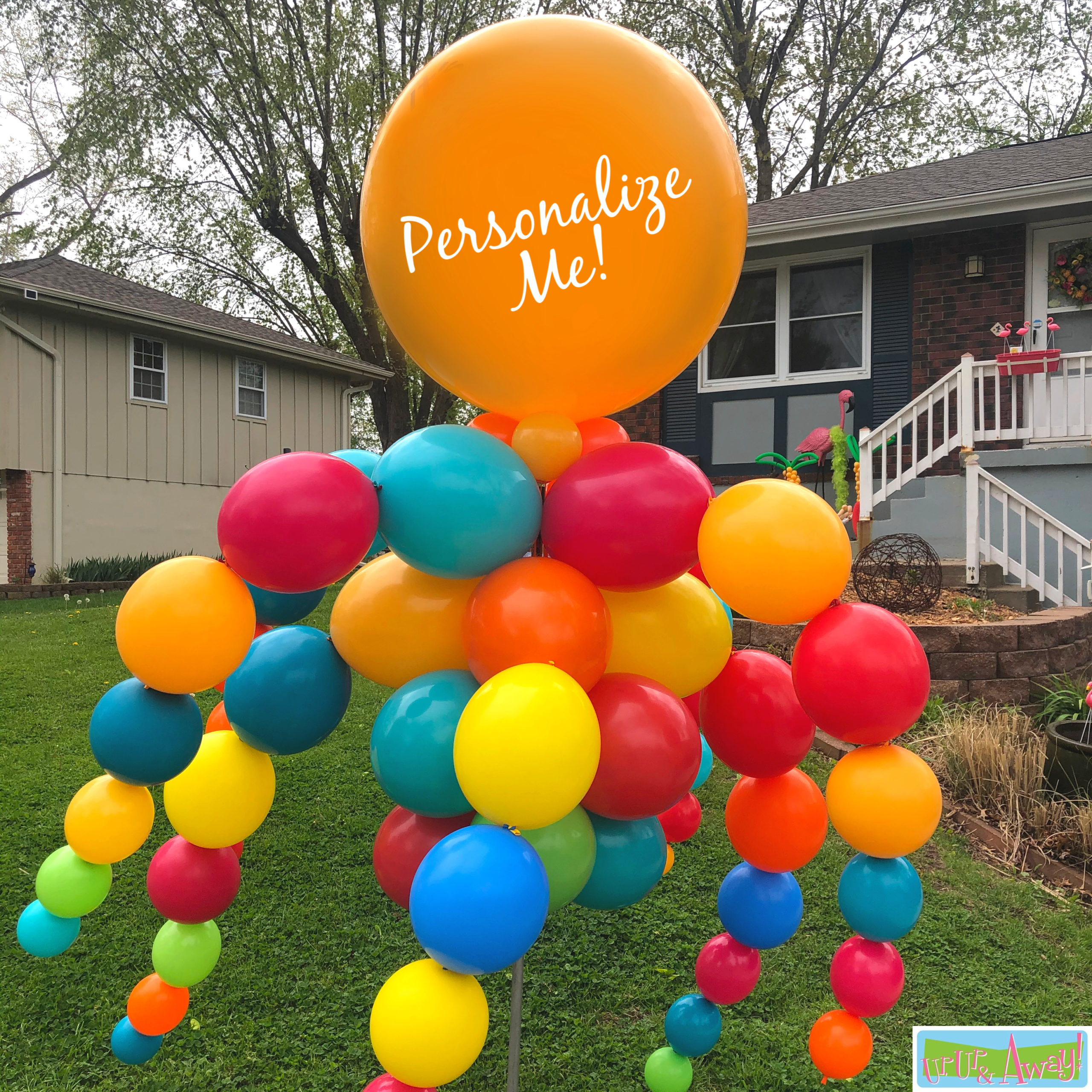 MegaWaver Personalized | Up, Up & Away! Balloons