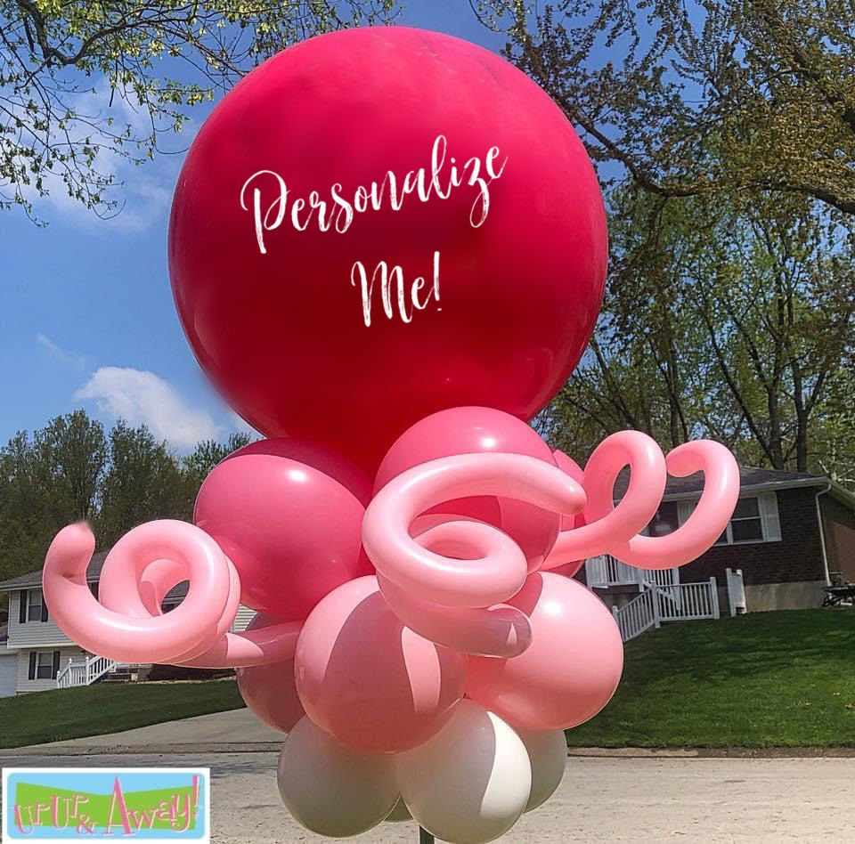 Swirls of Fun Personalized | Up, Up & Away!