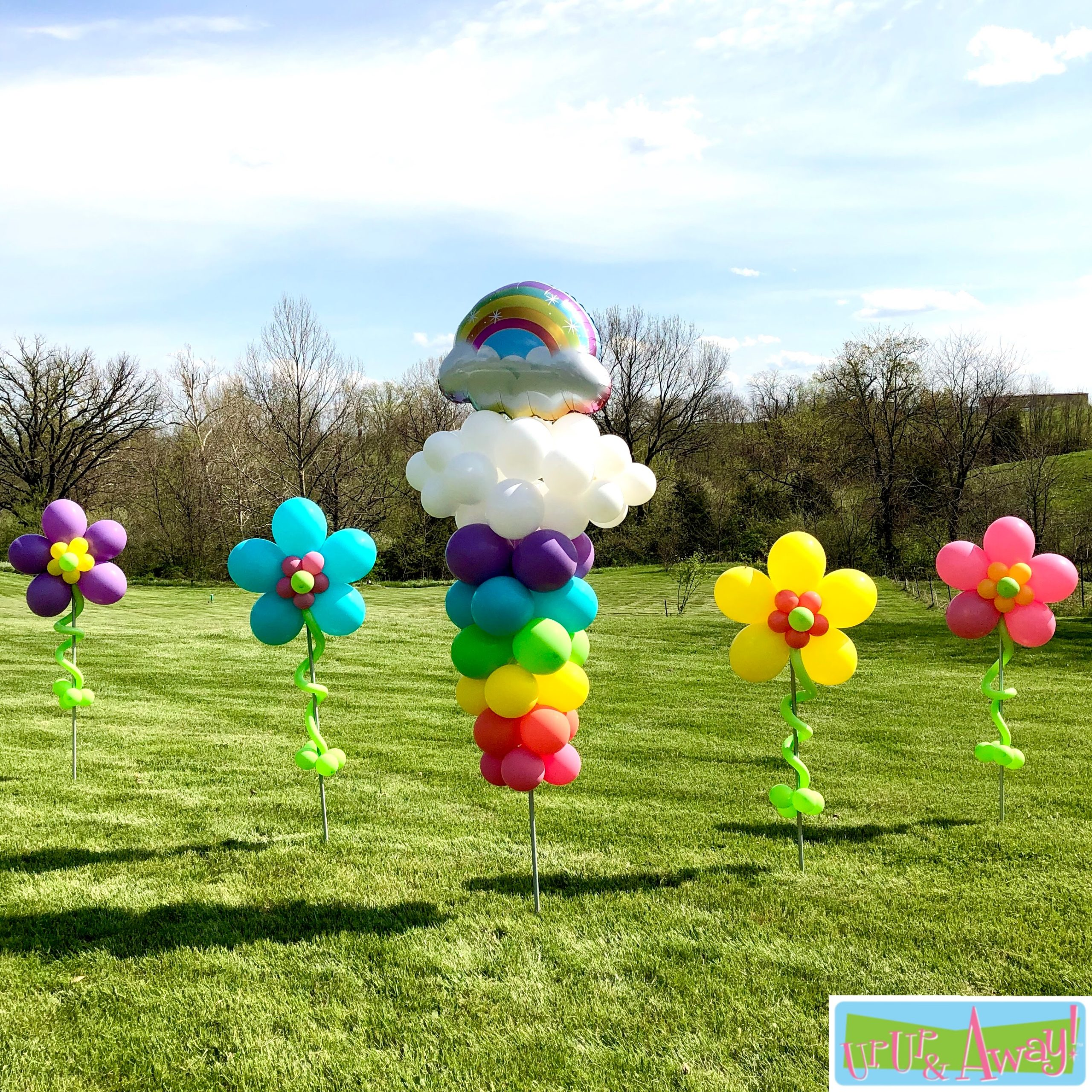 Rainbow Garden | Up, Up & Away! Balloons
