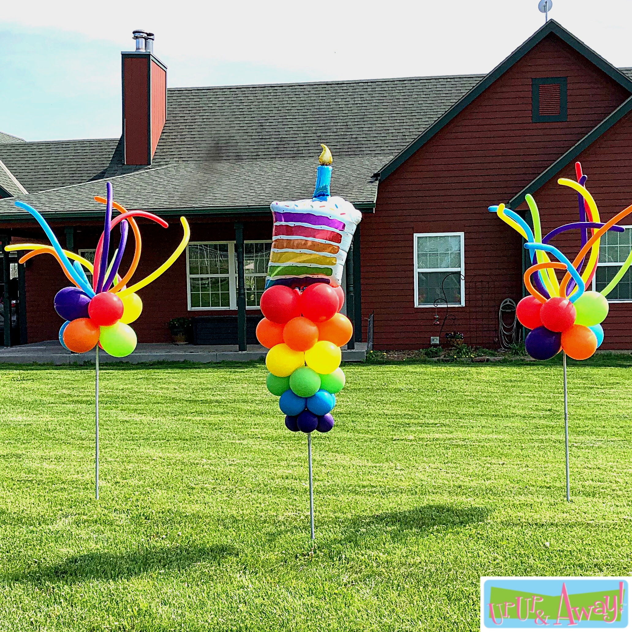 Piece of Cake with Two FunSprays | Up, Up & Away! Balloons