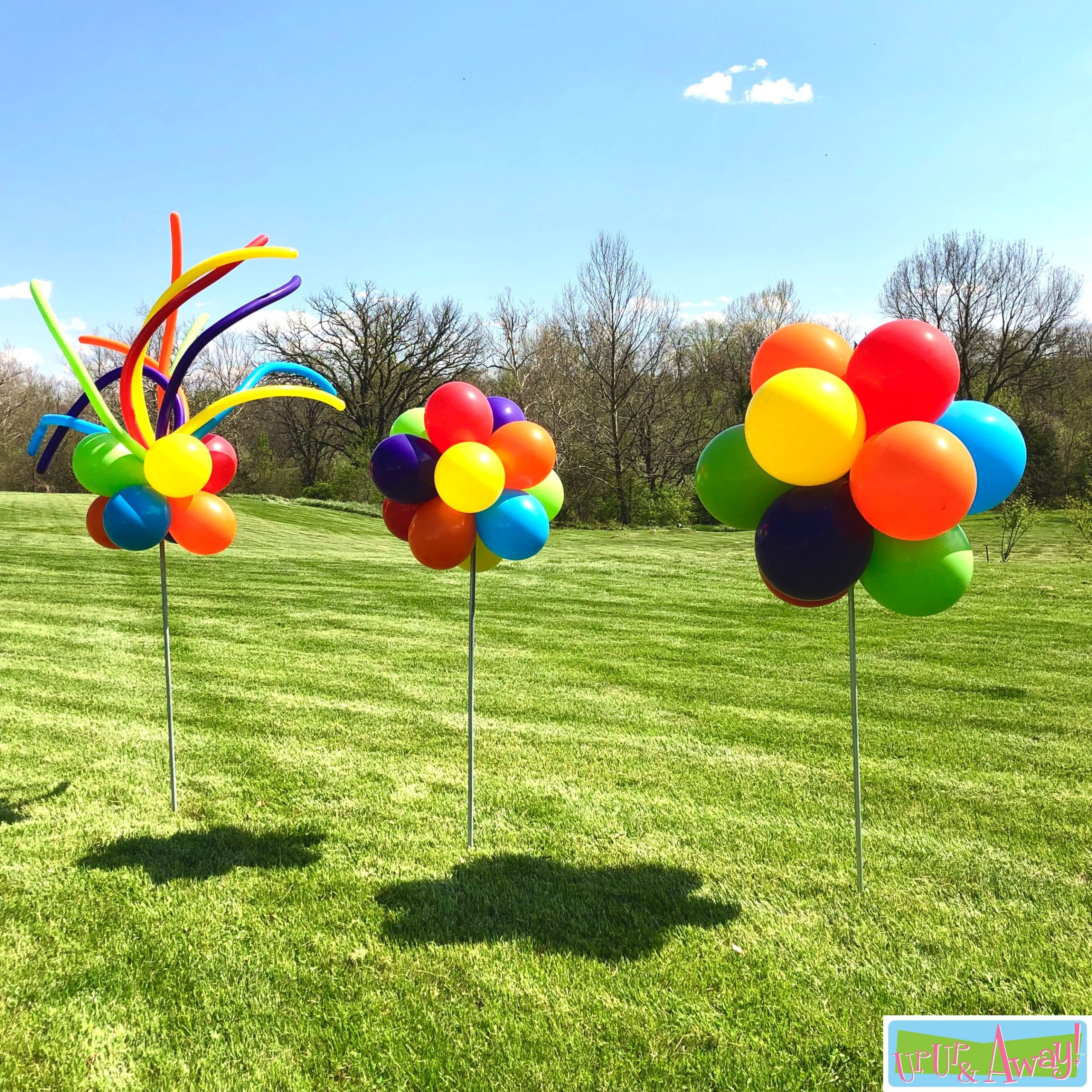 FunSpray with Topiaries | Up, Up & Away!