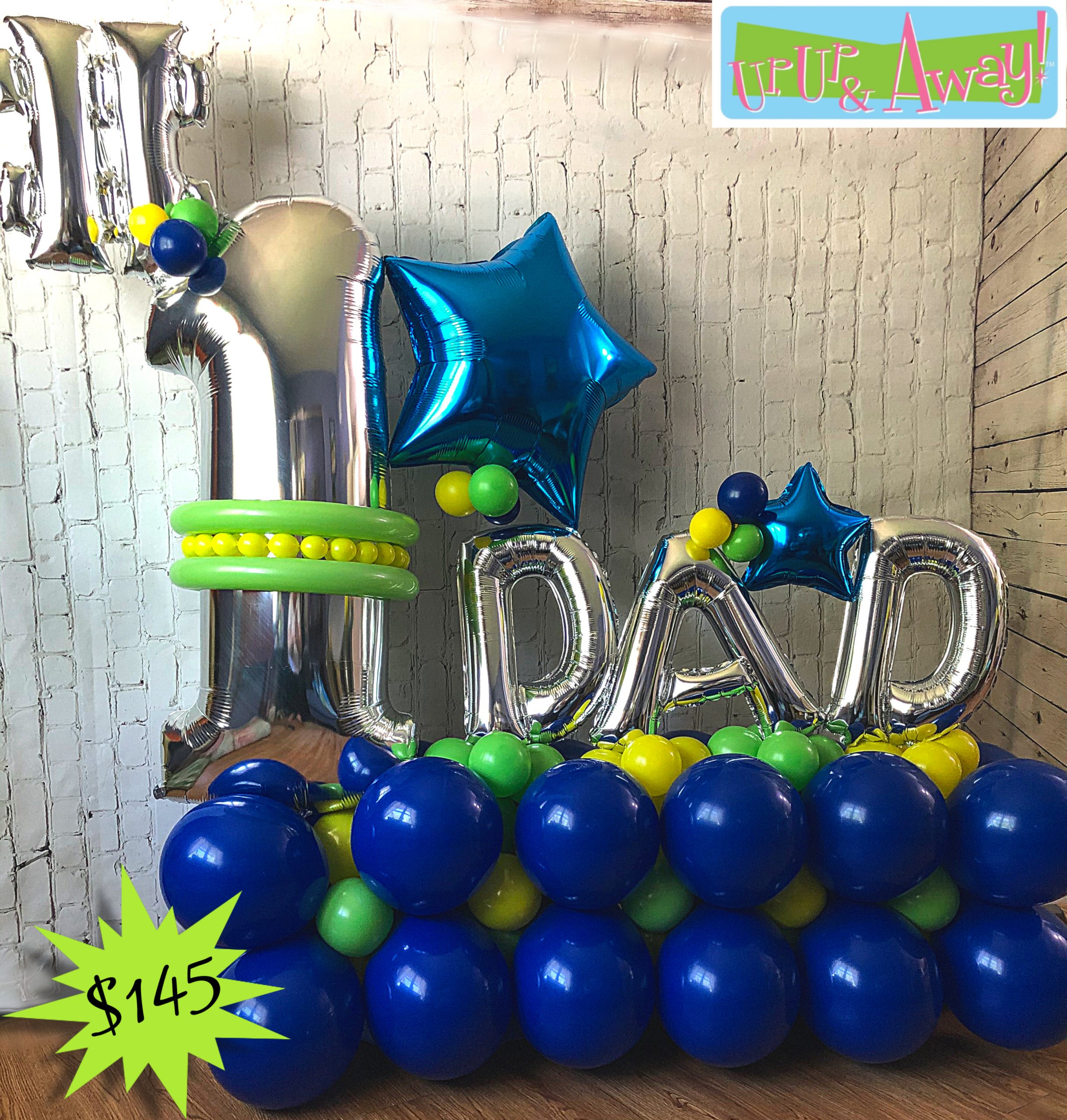 #1 Dad Balloon Delivery in Kansas City | Up, Up & Away!